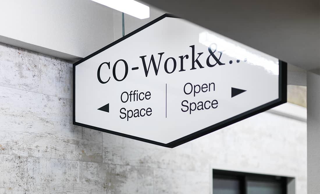 オープンスペース、オフィススペースどちらか